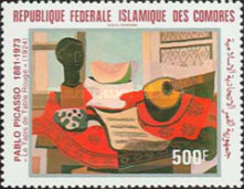 [Airmail - The 100th Anniversary of the Birth of Pablo Picasso, 1881-1973, type WG]