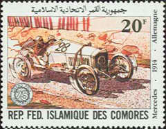 [The 75th Anniversary of French Grand Prix Motor Race, type XC]
