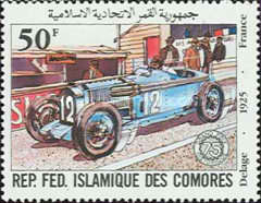 [The 75th Anniversary of French Grand Prix Motor Race, type XD]