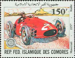 [The 75th Anniversary of French Grand Prix Motor Race, type XG]