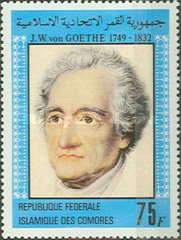 [The 150th Anniversary of the Death of Goethe (Poet), 1749-1832, Typ XN]
