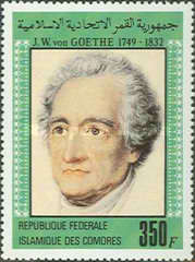 [The 150th Anniversary of the Death of Goethe (Poet), 1749-1832, Typ XO]