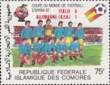 [Football World Cup - Spain - Stamps of 1981 Overprinted Results, type XW]