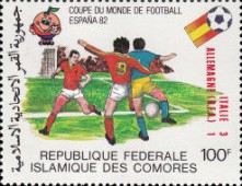 [Football World Cup - Spain - Stamps of 1981 Overprinted Results, type XY]