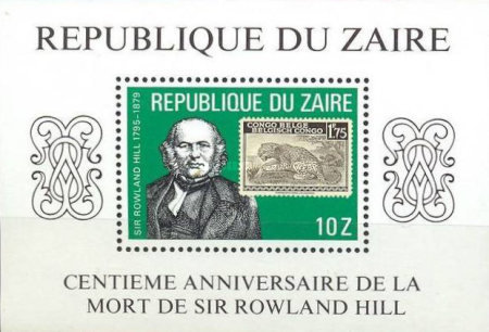 [The 100th Anniversary of the Death of Sir Rowland Hill, Typ ]