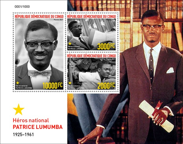 [The First Prime Minister of Congo, Patrice Lumumba, 1925-1961, type ]