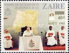 [The 2nd Papal Visit - Issues of 1981 Surcharged AOUT 1985, Typ AFO]