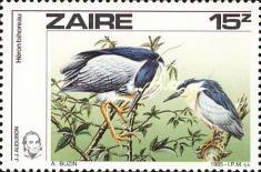 [Birds - The 200th Anniversary of the Birth of John J. Audubon, Typ AFS]