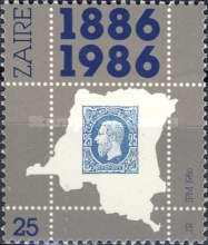 [The 100th Anniversary of 1st Congo Free State Stamp, Typ AGS]