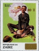 [Various Stamps Surcharged, Typ AIR]