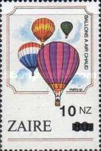 [Various Stamps Surcharged, Typ AMZ]