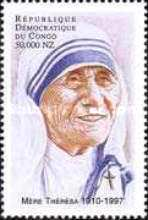 [The 1st Anniversary of the Death of Mother Teresa (Founder of Missionaries of Charity), 1910-1997, Typ AXW]