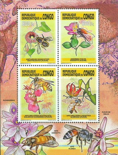 [Bees and Flowers, type CDU2]