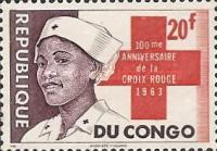 [The 100th Anniversary of Red Cross, type DF]