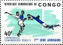 [The 1st African Games, Leopoldville, Typ GL]