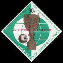 [Football World Cup - England - Issues of 1966 Overprinted