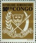 [Coat of Arms and General Mobutu, type KZ]