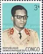 [Coat of Arms and General Mobutu, type LC]