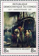 [The 50th Anniversary of International Labour Organization - Paintings, type LM]