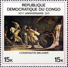 [The 50th Anniversary of International Labour Organization - Paintings, type LO]