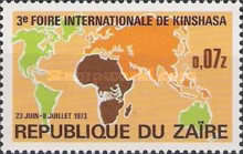 [The 3rd International Fair, Kinshasa, type QG]