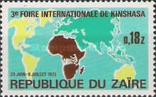 [The 3rd International Fair, Kinshasa, type QH]