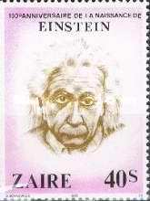 [The 100th Anniversary of the Birth of Albert Einstein, 1879-1955, Typ WB]