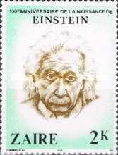 [The 100th Anniversary of the Birth of Albert Einstein, 1879-1955, Typ WC]