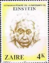 [The 100th Anniversary of the Birth of Albert Einstein, 1879-1955, Typ WD]
