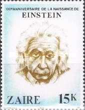 [The 100th Anniversary of the Birth of Albert Einstein, 1879-1955, Typ WE]