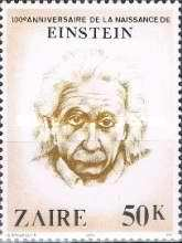 [The 100th Anniversary of the Birth of Albert Einstein, 1879-1955, Typ WF]