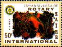 [The 75th Anniversary of Rotary International, Typ WT]