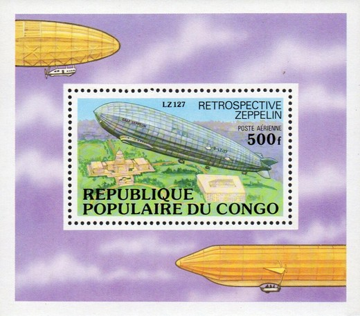 [Airmail - History of the Zeppelin, type ]