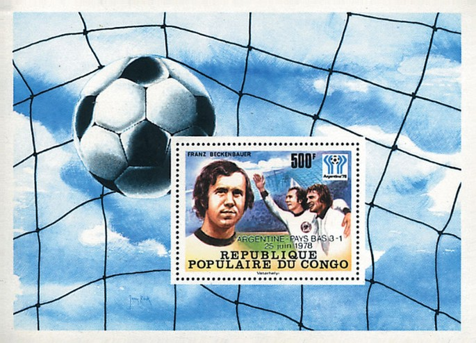 [Football World Cup Winners From 1962-1978 - Stamps of 1978 Overprinted, Typ ]