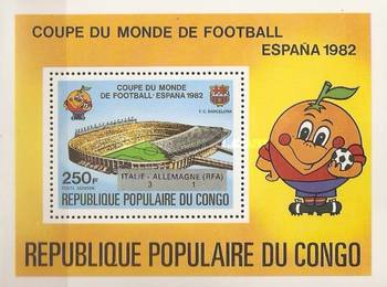 [Football World Cup - Spain - Stamps of 1980 Overprinted Results, Typ ]