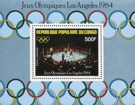 [Airmail - Olympic Games - Los Angeles, USA, type ]