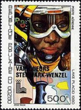 [Airmail - Winter Olympic Games Medal Winners - Issues of 1979 Overprinted with Names of Winners, type AAW]