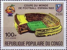 [Airmail - Football World Cup - Spain (1982), type ABJ]