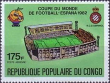 [Airmail - Football World Cup - Spain (1982), type ABL]