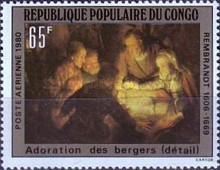 [Airmail - Paintings by Rembrandt, type ABP]