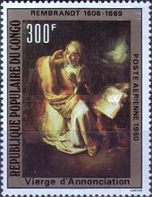 [Airmail - Paintings by Rembrandt, type ABS]
