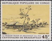 [The 100th Anniversary of Brazzaville, type ACY]