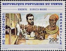 [The 100th Anniversary of Brazzaville, type ADC]
