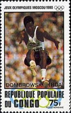 [Airmail - Olympic Medal Winners - Issues of 1980 Overprinted, type ADF]