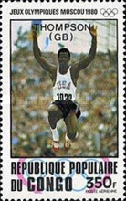 [Airmail - Olympic Medal Winners - Issues of 1980 Overprinted, type ADI]