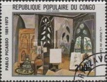 [Airmail - The 100th Anniversary of the Birth of Pablo Picasso, 1881-1973, Typ AEW]