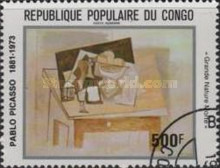 [Airmail - The 100th Anniversary of the Birth of Pablo Picasso, 1881-1973, Typ AEY]