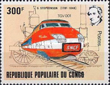 [The 200th Anniversary of the Birth (1981) of George Stephenson (Railway Engineer), Typ AFZ]