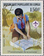 [The 75th Anniversary of Boy Scout Movement, Typ AGB]