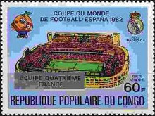 [Football World Cup - Spain - Stamps of 1980 Overprinted Results, Typ AGY]